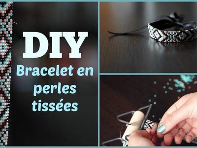 DIY # TUTO Bracelet en perles tissées - Loom beads