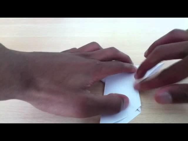 Faire un oiseau en origami - Fabriquer un oiseau en papier