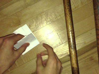 Ffaire une robe en origami - Vidéo explicative