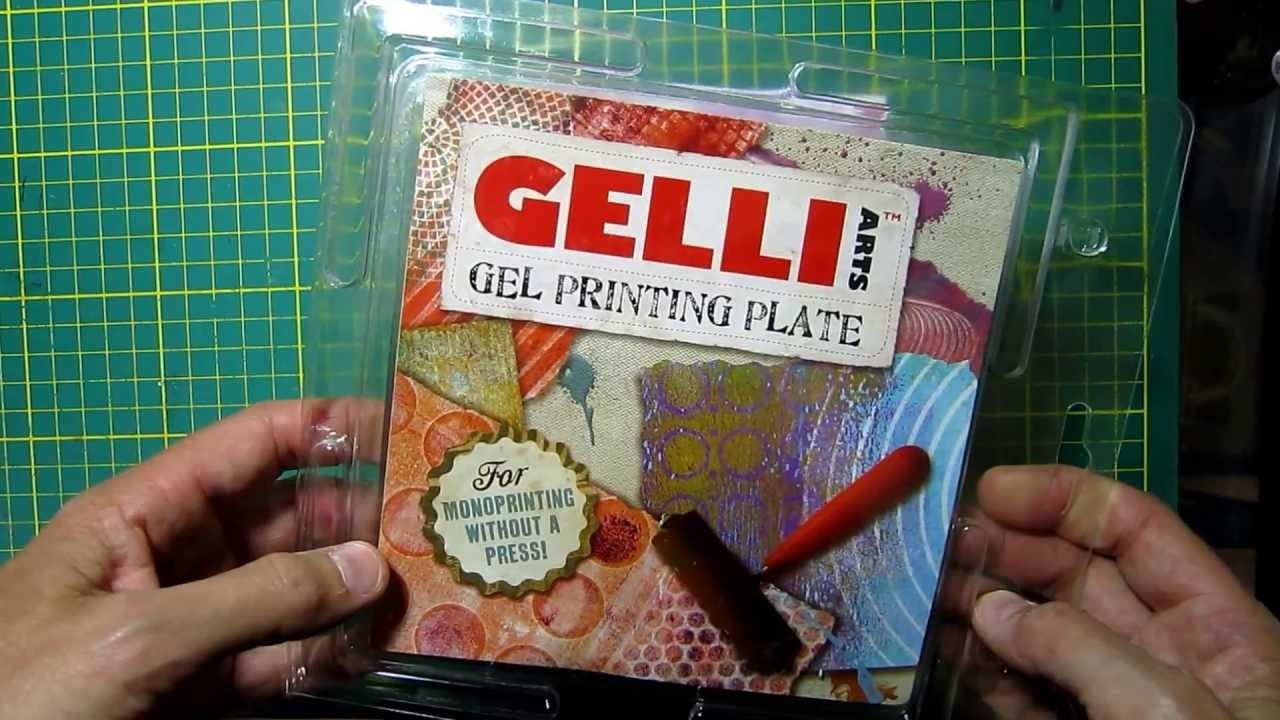Gelli Art Plate - Gel printing plate - Scrapbooking