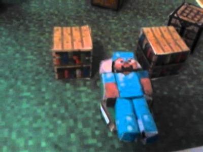 Mes papercraft (maquette)