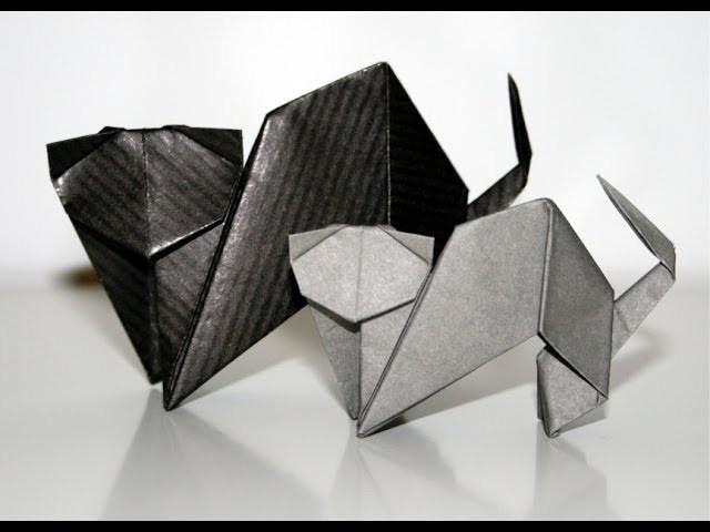 Origami - Chat - Cat [Senbazuru]