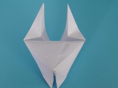Origami : Comment faire une tête de chat gonflable en papier