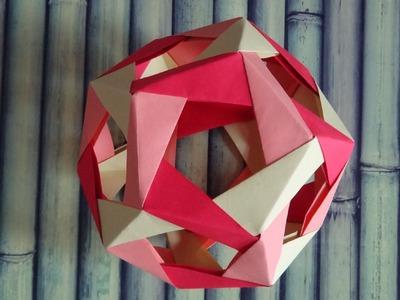 Origami : Dodécahèdre pénultième