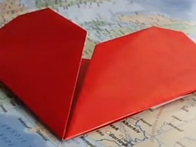 Origami un marque place poser sur verre diy d co - Comment faire un sapin en origami ...