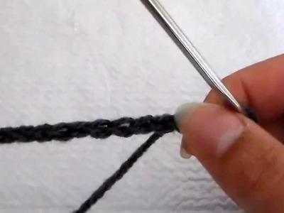 Technique de crochet : la chaînette