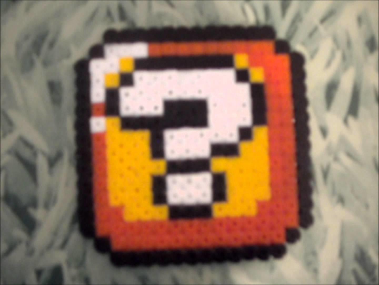 [Tuto]Mario et autres en Perles Hama (Hama Beads)