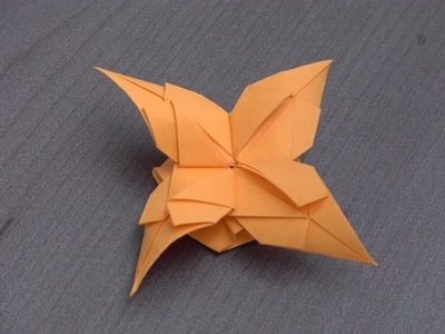 "Tutoriel Origami Flower - ""Fuji"""