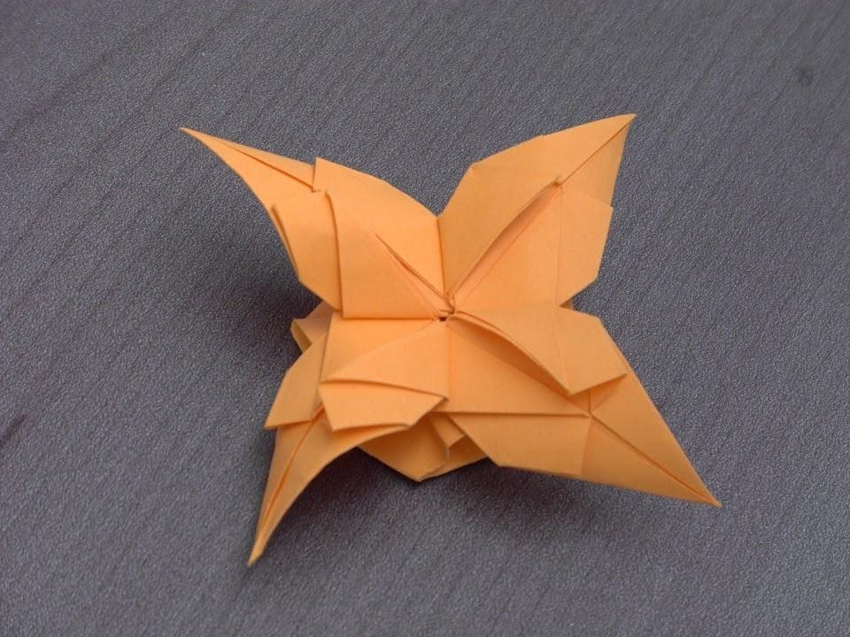 "Tutoriel Origami Flower - ""Fuji"""