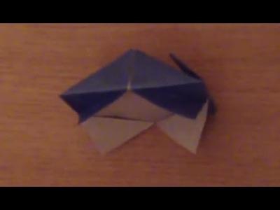 Faire un cadre en origami - Fabriquer un porte photo en papier