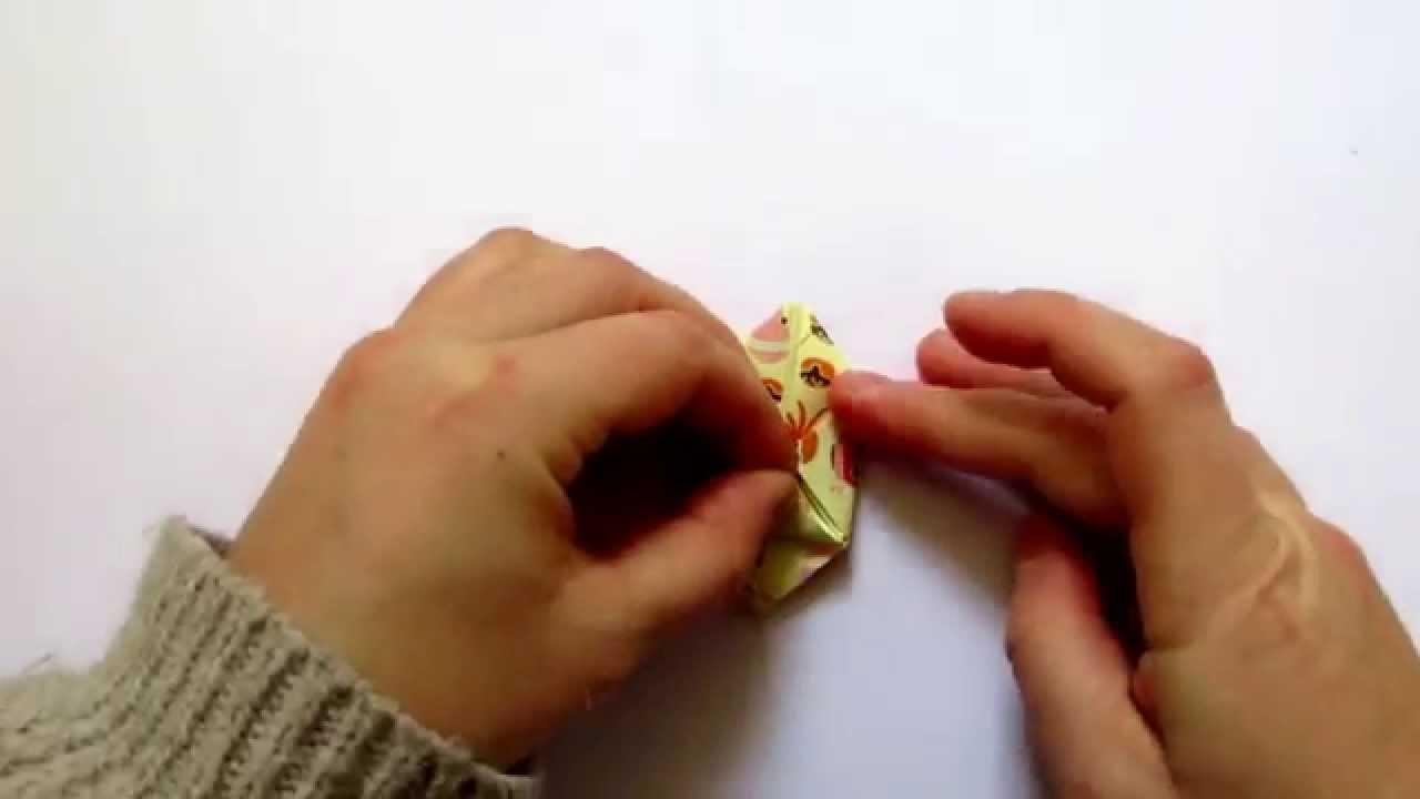 DIY : Guirlande en papier origami