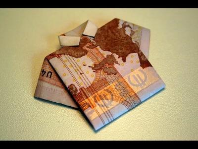 Origami - Chemise en billet - Dollar Bill Shirt [Senbazuru]