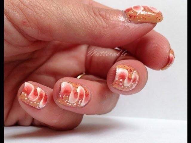 "Nail art ""Ruban"" by Natterable"
