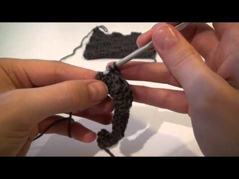 Crochet : L'effet damier