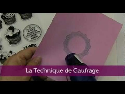 Abi's Craft™ Techniques - Gaufrage