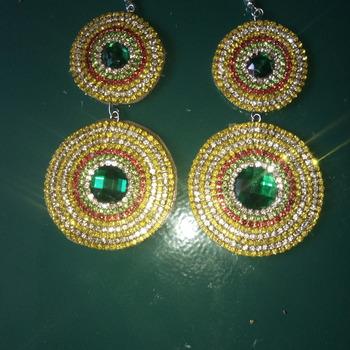 Boucles d'oreilles d'inspiration indienne