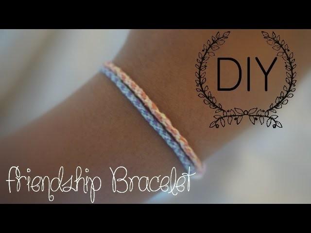 DIY ❤ Friendship Bracelet I SBC