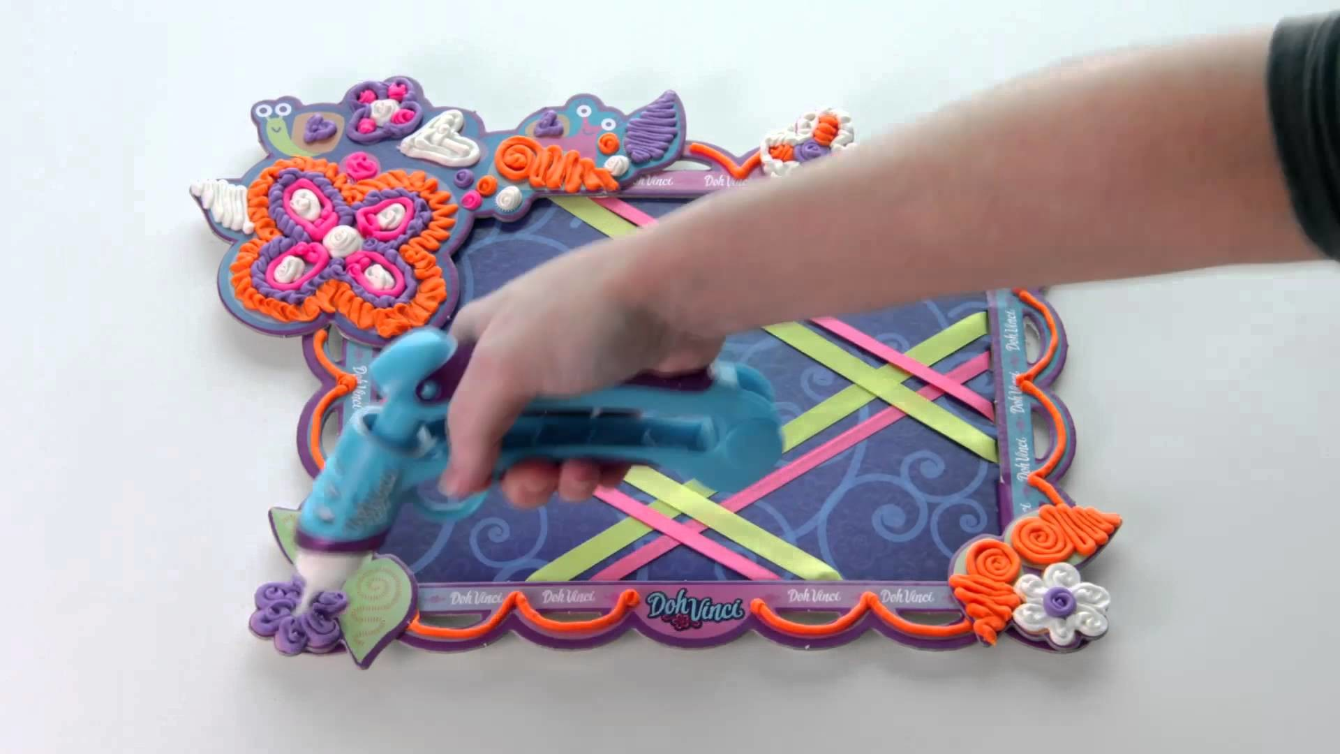 Doh Vinci France (Time Lapse Arts & Crafts)  le pele mele