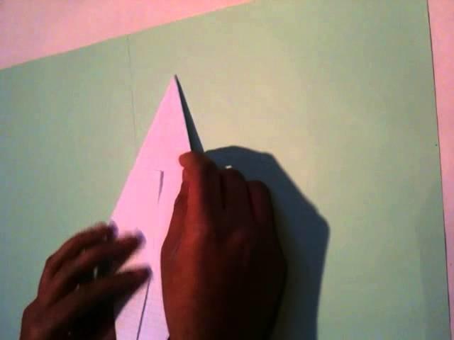 Faire un Origami - Un arbre de noel
