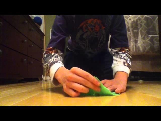 Faire une fleur de lotus - Origami - Fleur