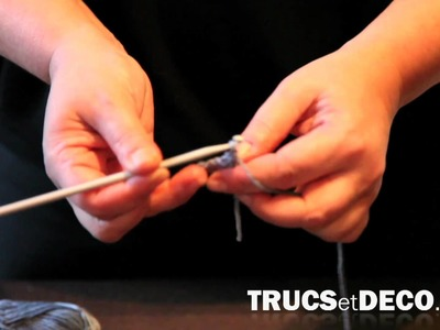 Maille en l'air en crochet - Tutoriel par trucsetdeco.com