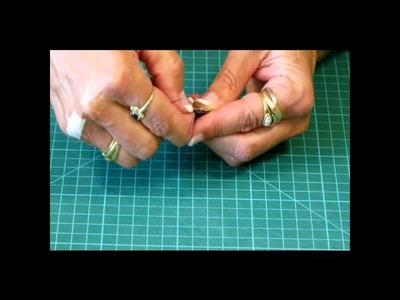 Technique patchwork - Jardin de grand mère montage l'anglaise