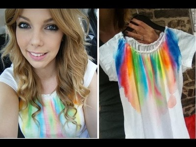 Tutoriel T-shirt Multi Couleur