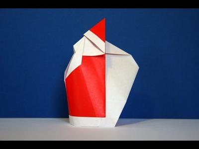 Origami - Père Noël - Santa Claus [Senbazuru]