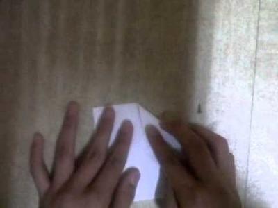 Origami Etoile a 8 pic parti 2