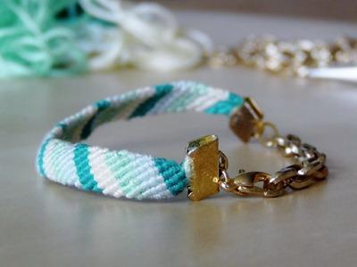 DIY : Bracelet brésilien revisité