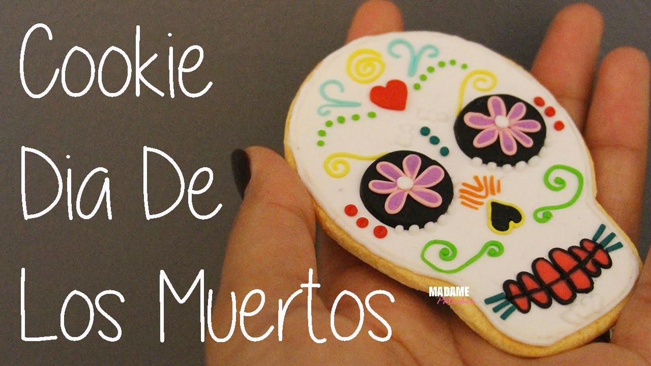 Cookie Dia De Los Muertos (Tuto Fimo.Polymer Clay Tutorial)
