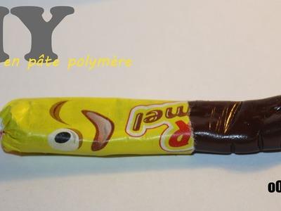 Tuto Fimo : Carambar. Polymer clay Sweets tutorial