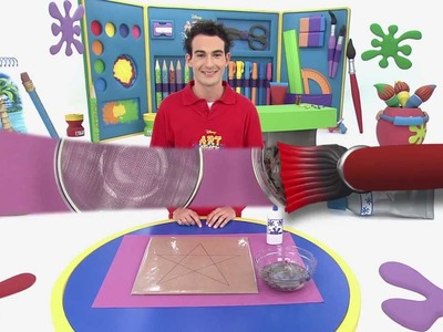 Art attack - Décoration de star - Sur Disney Junior !
