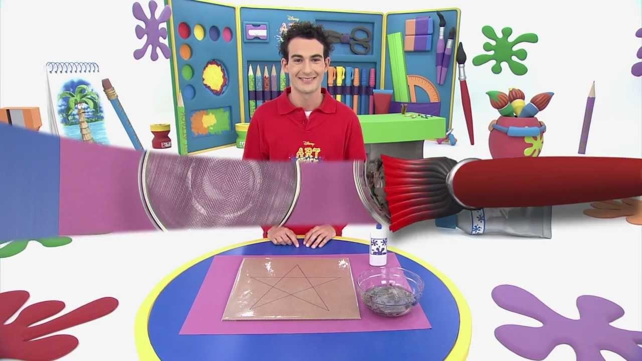 Art attack - Décoration de star - Sur Disney Junior !