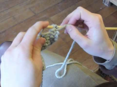 Cours de tricot 8 - diminutions aux bords