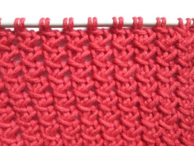 Tuto tricot apprendre a tricoter le point de petite cloture point de tricot fantaisie facile - Apprendre a tricoter gratuitement ...