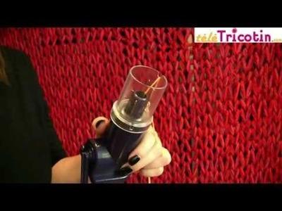 Le Tricotin mecanique Bleu de chez Tricotin.com
