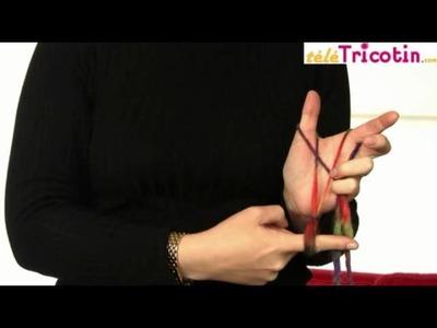 Trico'doigt : monter les mailles