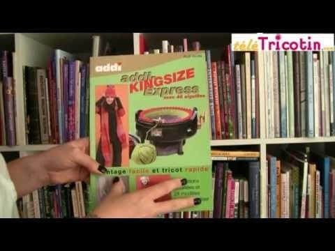 Livre Addi : Tricotin semi-automatique KING SIZE de chez Tricotin.com