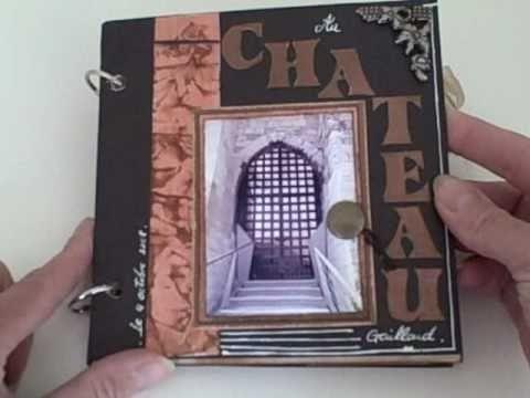 "Scrapbook ""au château"""