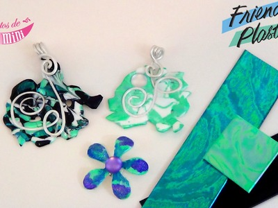 "{ Tuto } bijoux en ""friendly plastic"" de chez Perles & co"