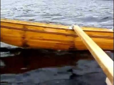 Homemade 2 masts sailing canoe go F4
