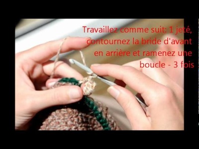 Kiwi Little Things WEBTv - Crochet - Point Triple Noeud (Tutoriel FR)