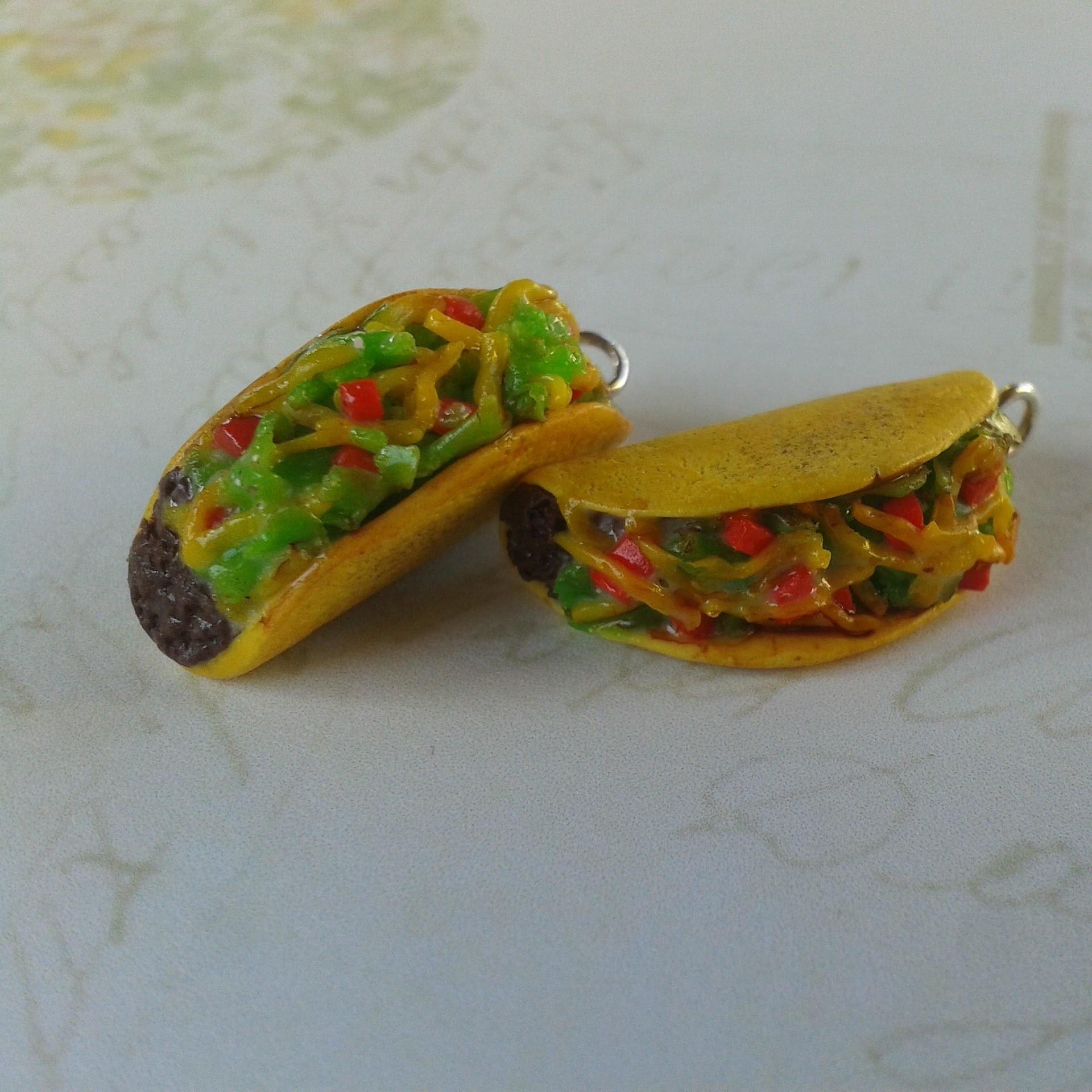 (TUTO) Taco en fimo. polymer clay