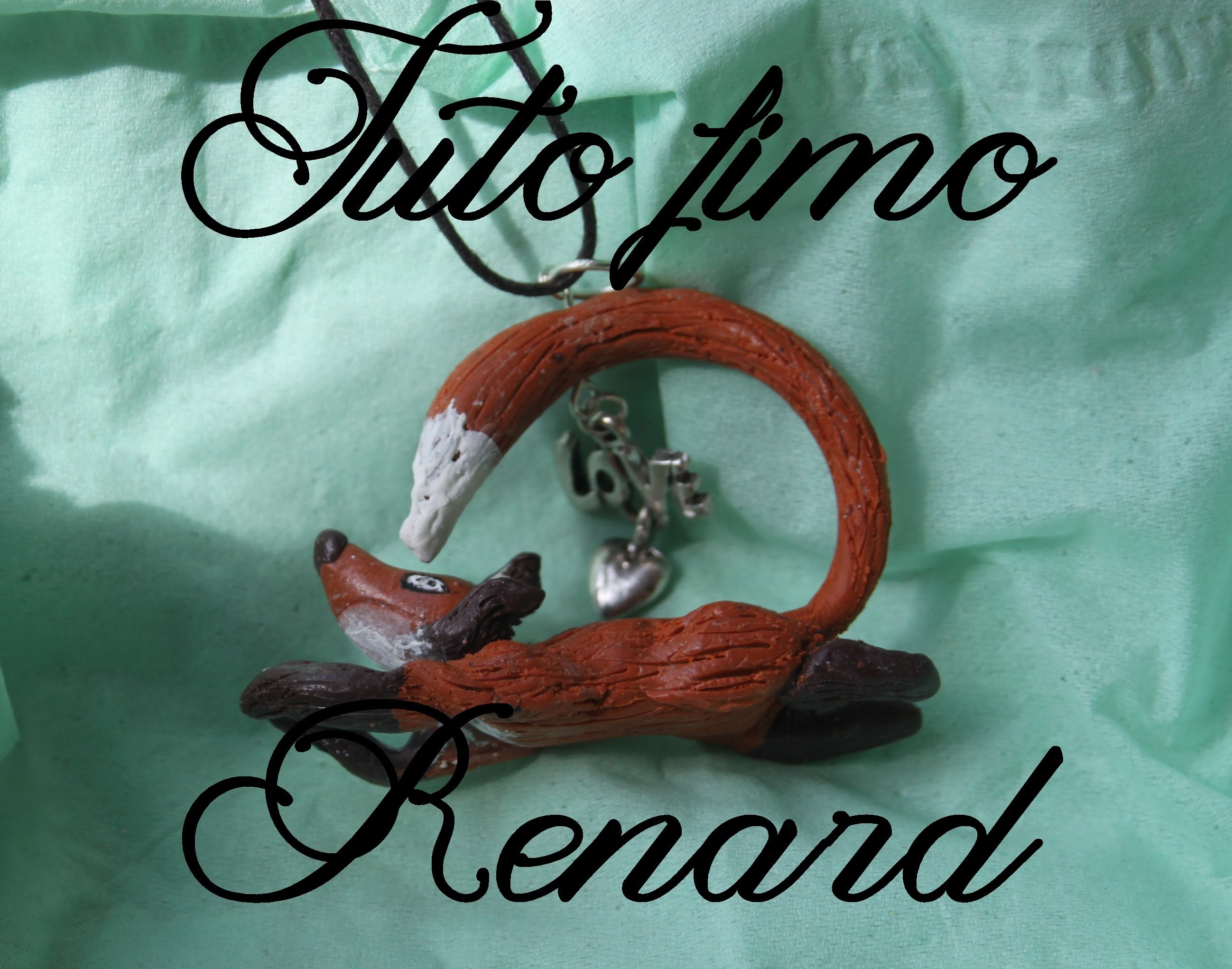 [♥ Tuto Fimo Renard ♥] ✿ Polymer clay tutorial fox ✿
