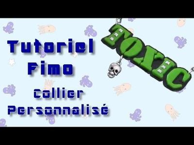 Tutoriel Fimo - Collier avec mot personnalisé. Polymer Clay Tutorial - custom word