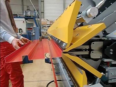 Plieuse hydraulique DOUBLE TABLIER H MAX - NESTA Equipement