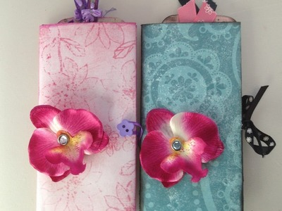 Tutoriel Scrap : Mini album Book of tag