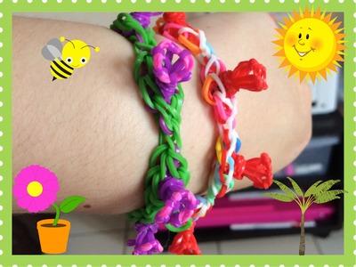Loom #13 Bracelet Morning Glory (En Fraçais)(Rainbow Loom)