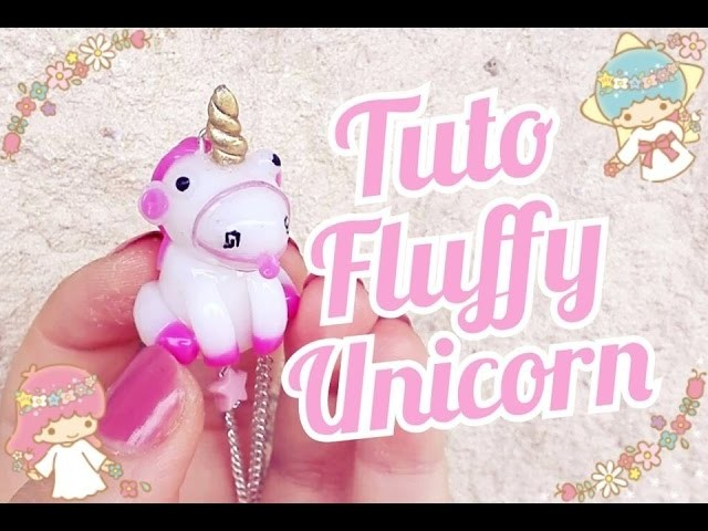Tuto Fimo Fluffy | Unicorn Despicable Me Polymer Clay Tutorial ♥